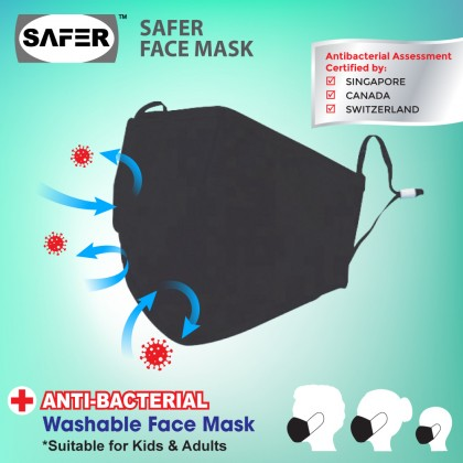 Safer Antibacterial Face Mask